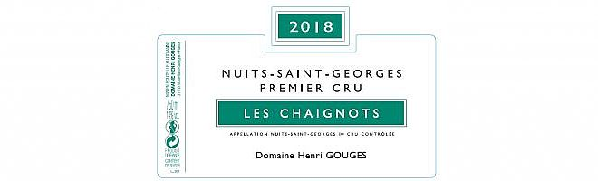 Nuits-St-Georges 1er cru Chaignots 2018