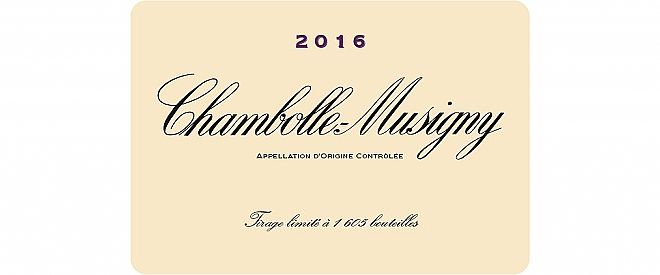 Chambolle-Musigny 2016