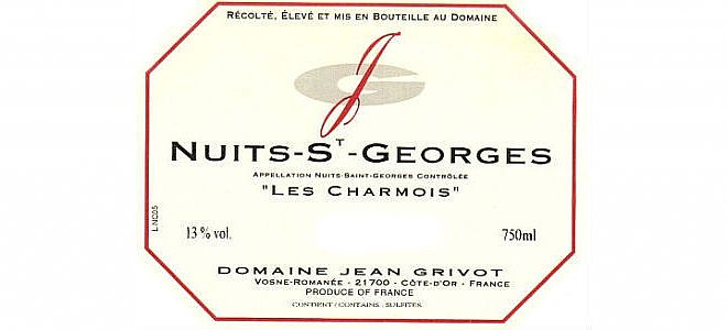 Nuits-St-Georges Charmois 2014
