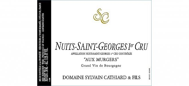 Nuits-St-Georges 1er cru Murgers 2017