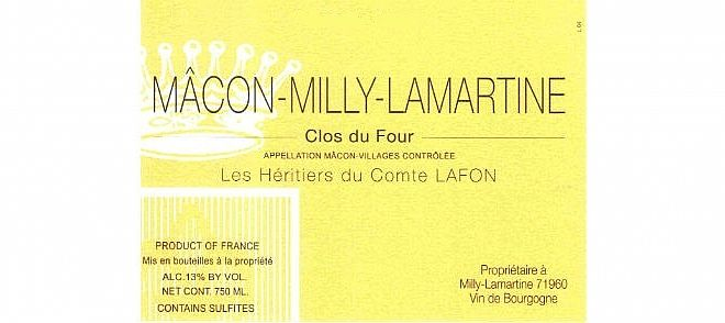 Mâcon-Milly-Lamartine Clos du Four 2018