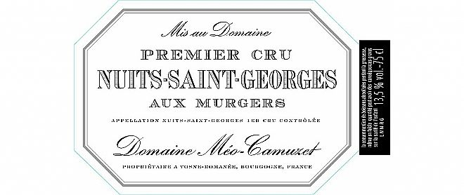 Nuits-St-Georges 1er cru Murgers 2014