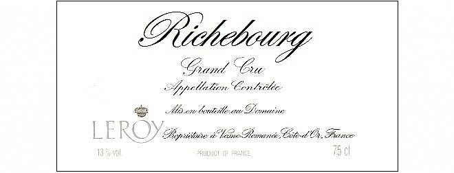 Richebourg - Grand Cru 2013