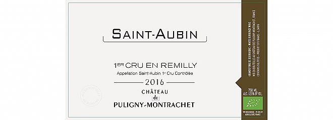 Saint-Aubin 1er Cru Remilly 2016