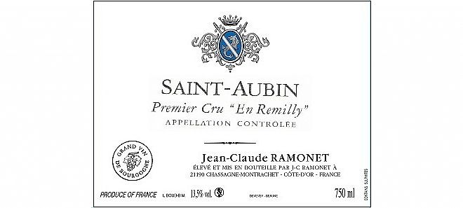 Saint-Aubin 1er cru En Remilly 2016